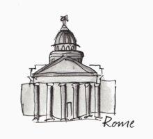 Rome One Piece - Short Sleeve