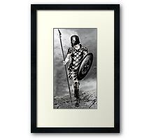 Captain of the Watch Framed Print