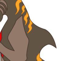 Tiger shark Hippocampus Sticker