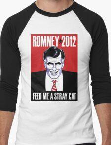 Mitt Romney: American Psycho Men's Baseball ¾ T-Shirt