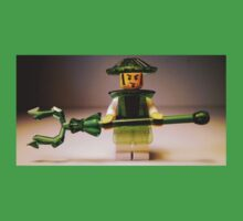 Ching Dynasty Chinese Warrior Custom LEGO® Minifigure with Trans Green Armour, by 'Customize My Minifig' by Chillee