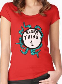 Elder Thing 1 Women's Fitted Scoop T-Shirt