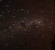 Startrail - Arkaroola - South Australia by zeebot