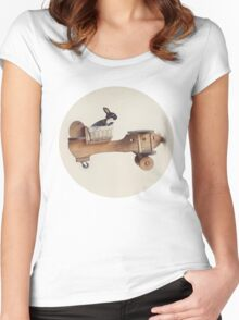 Hare Force Women's Fitted Scoop T-Shirt