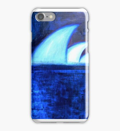 Monnlight Over Sydney Opera House iPhone Case/Skin
