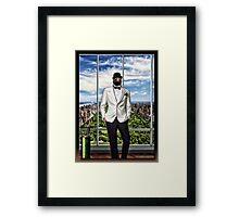 The Dapper Penguin Framed Print