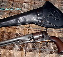 Colt Army 44 Cal. 1850 by Philip DeLoach