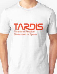 NASA Worm Logo TARDIS T-Shirt