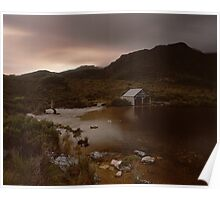 """The Boat Shed"" ∞ Cradle Mountain, Tasmania - Australia Poster"