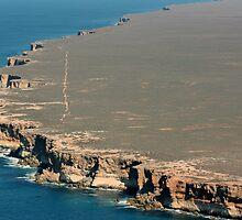 Bunda Cliffs Nullarbor B. South Australia by Paul Birch