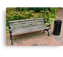 have a sit and a smoke Canvas Print