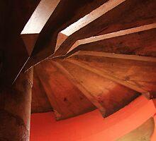Spiral stairway by wanderingtrucki