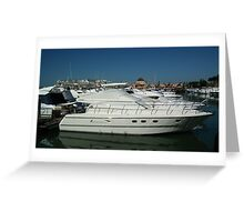 Exclusive Boating Greeting Card