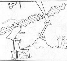 Merlin's Sword 1996 by Robert Phillips