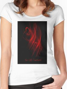 ©NLE Red V Women's Fitted Scoop T-Shirt