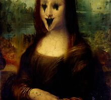 Haunted Mona Lisa by GrimDork