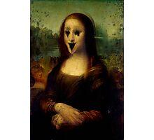 Haunted Mona Lisa Photographic Print