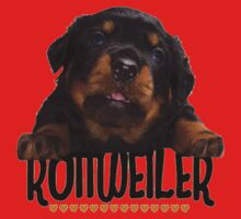 Rottweiler Love One Piece - Short Sleeve