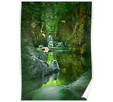 The Fairy Glen , Betws-y-Coed Poster