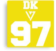 SEVENTEEN Varsity DK  Canvas Print