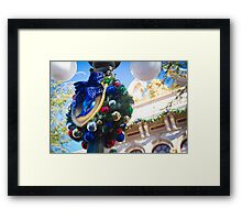 A Diamond Christmas Framed Print