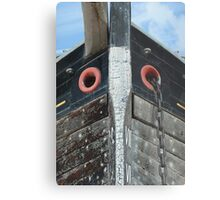 The Prow of a Trow Metal Print
