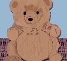 Wes T. Bear by PharrisArt