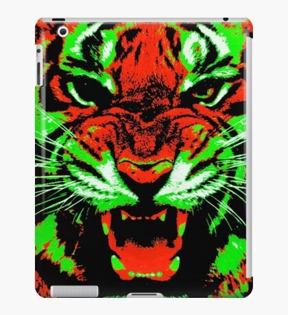 Pop Art Tiger iPad Case/Skin