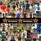 Customize My Minifig Calendar 4 by Chillee