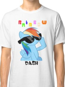 Rainbowdash Shades T-Shirt Classic T-Shirt