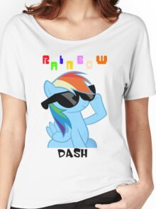 Rainbowdash Shades T-Shirt Women's Relaxed Fit T-Shirt