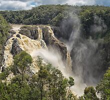 The beautiful Barron Falls by hereswendy