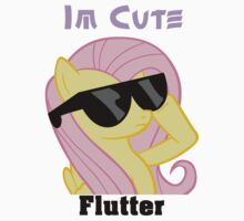 Fluttershy Shades T-Shirt by Megavip