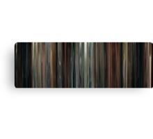 Moviebarcode: Drive (2011) Canvas Print