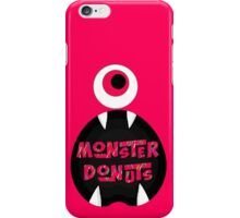 MoNsTeR DoNuTs CoLoR iPhone Case/Skin