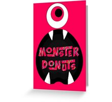 MoNsTeR DoNuTs CoLoR Greeting Card