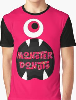 MoNsTeR DoNuTs CoLoR Graphic T-Shirt