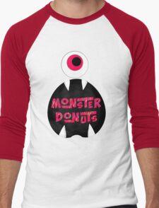 MoNsTeR DoNuTs CoLoR Men's Baseball ¾ T-Shirt