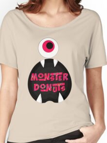 MoNsTeR DoNuTs CoLoR Women's Relaxed Fit T-Shirt