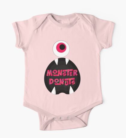 MoNsTeR DoNuTs CoLoR One Piece - Short Sleeve