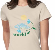 World version 2 Womens Fitted T-Shirt