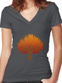 House Marbrand Tee Women's Fitted V-Neck T-Shirt