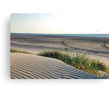 View over our North Sea Beach... Canvas Print