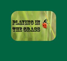 Playing in the Grass Unisex T-Shirt