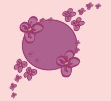 Pink Springtime One Piece - Long Sleeve