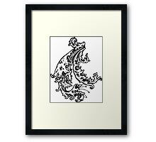 The Water Winds Framed Print