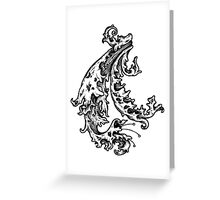 The Water Winds Greeting Card