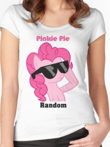 Pinkie Pie Shades T-Shirt Women's Fitted Scoop T-Shirt