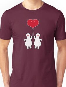 We hold our love together Unisex T-Shirt