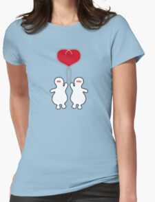 We hold our love together Womens Fitted T-Shirt